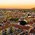 Sunset In Cavaillon by Oleg Koryagin