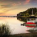 Sunset In Centerport by Alissa Beth Photography