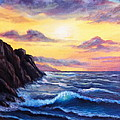 Sunset In Colors by Bozena Zajaczkowska