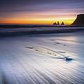 Sunset In December by Arnar B Gudjonsson