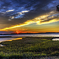 Sunset In Delaware by Tim Buisman