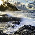 Big Island - Sunset In Hilo by Francesco Emanuele Carucci