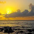 Sunset In Kauai by John Greaves