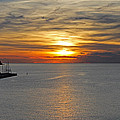 Sunset In Koper by Tony Murtagh