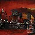 Sunset In New York by Denisa Laura Doltu