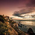 Sunset In Newport Beach by Sviatlana Kandybovich