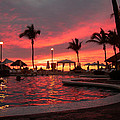 Sunset In Paradise by Shane Bechler