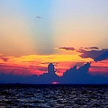 Sunset In Paradise by Debra Forand