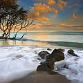 Sunset In Paradise by Mike  Dawson