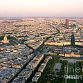 Sunset In Paris by Deborah Smolinske