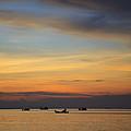 Sunset In Thailand. by Vanessa Devolder