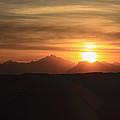 Sunset In The Eastern Desert Sahara Egypt by Ivan Pendjakov