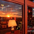 Sunset In The Lobby by Adam Jewell