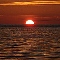 Sunset In The Sea by Robin Stout
