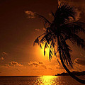 Sunset In The South Pacific by Jim Southwell