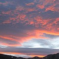 Sunset In Vail Colorado by Fiona Kennard