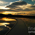 Sunset In Yellow Stone by Jeff Swan