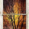 Sunset Into The Night Window View 3 by James BO Insogna