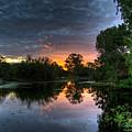 Sunset Lake by Darren Burton