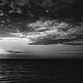 Sunset Lake Ontario by Robert Ullmann