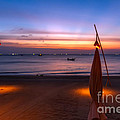 Sunset Lanta Island  by Adrian Evans