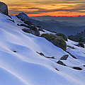 Sunset Light On The Snow by Guido Montanes Castillo