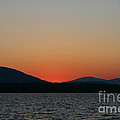 Sunset Lines Of Lake Umbagog  by Neal Eslinger