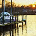 Sunset Marina by Brian Wallace