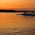 Sunset Marina by Diana Powell