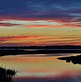 Sunset Marsh by William Bartholomew