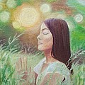 Sunset Meditation by Mila Kronik