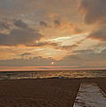 Walkway To The Sunset by Susan Wyman