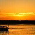 Sunset Morro Bay California by Ernie Echols