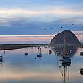 Sunset Morro Bay by Hugh Smith