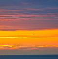 Sunset Near Honolulu Harbor by Lehua Pekelo-Stearns