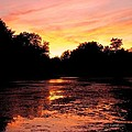 Sunset Near Rosemere - Qc by Juergen Weiss