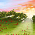 Sunset Of Spring by Veronica Minozzi