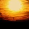 Sunset Of Tularosa by Jessica Shelton