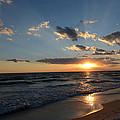 Sunset On Alys Beach by Julia Wilcox
