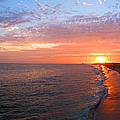 Sunset On Balboa by Kelly Holm