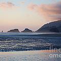 Sunset On Cannon Beach by Sharon Elliott