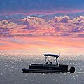Sunset On Grand Beach by Carol Cottrell