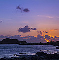 Sunset On Guernsey by Chris Smith