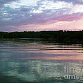 Sunset On Gull Lake by Nina Silver