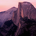 Sunset On Half Dome As Seen by Gina Bringman