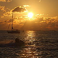 Sunset Over Key West by Christiane Schulze Art And Photography