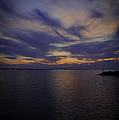 Sunset On Lake Poygan 1 by Thomas Young