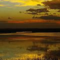 Sunset On Medicine Lake by Jeff Swan