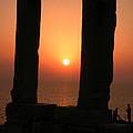 Sunset On Naxos Island Greece  by Colette V Hera  Guggenheim