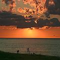 Sunset On Race Point Beach by Jeff Folger
